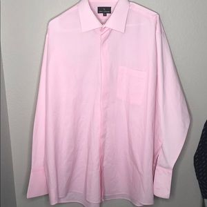 📦 Stacy Adams pink button up
